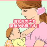 母乳育児にも葉酸が役立つ